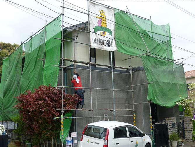 長崎の住宅塗装なら円口塗装